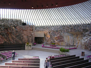 Temppeliaukio Church/Church of the Rock