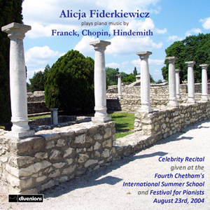 franck chopin hindemith cd cover